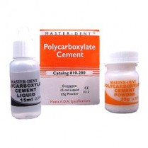 101-POLYCEM Polycarboxylate Cement Kit 25Gm Powder/ 15Ml Liquid