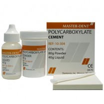 101-POLYCEMLG Polycarboxylate Cement Kit 60Gm Powder/ 40Gm Liquid
