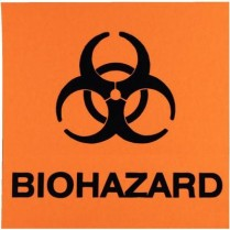 983-BWL2 HPTC Biohazard Warning Labels (25)