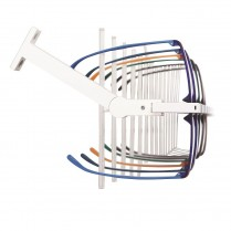 Rotating bracket for eyewear