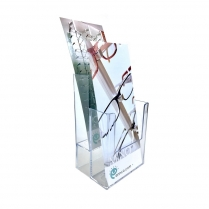 Countertop Literature Holder, Literature Holder, Pamphlet Holder, Acrylic Countertop Literature Holder