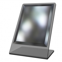 countertop mirror, optical mirror, mirror, acrylic mirror, dispensing table mirror