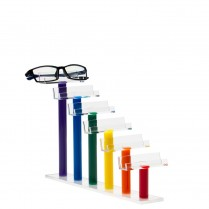 colorful eyewear display