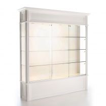 glass showcase, frame display showcase, optical space design, display case with storage, optical frame showcase