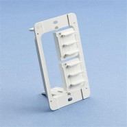 CAD-MP1P Caddy (MP1P) Plastic Mounting Plate Bracket - single