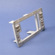 CAD-MP34P Caddy (MP34P) Plastic Mounting Plate Bracket - 3 or 4 Gang
