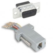 CON-JK843 Adapter - DB9 Male / RJ12 6conductor