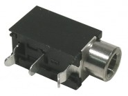 MODE-243860 3.5mm Mono PC Mount Jack - Closed Circuit