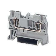 PHX-3074130 UK35N - Feed Thru Terminal Block - 8-2ga 125A 600V - Grey