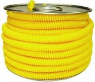 "SLO-SL0375/0-015-YELLOW 3/8""polyethylene Split Loom - Yellow - (15m)"