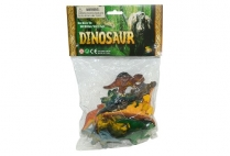 012660 DINOSAURS 12 PCE IN BAG