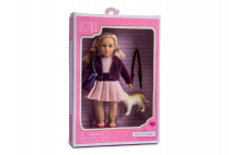 014258 LORI - DOLL & PET GOLDEN RETRIEVER HAPPY & HAZEL