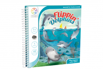 014317 SMART GAMES - FLIPPIN DOLPHINS - MAGNETIC TRAVEL GAME