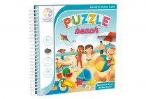 014318 SMART GAMES - PUZZLE BEACH - MAGNETIC TRAVEL GAME