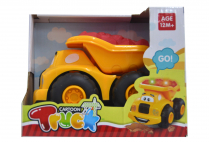 014416 FREE WHEEL TRUCK W/MUSIC&LIGHT IN OPEN BOX 2ASST