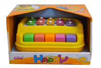 014472 PASTEL XYLOPHONE IN OPEN BOX