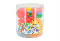 014656 5PCE SQUEAKY SEA ANIMALS IN PVC TUB
