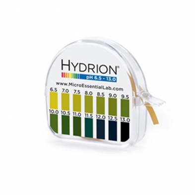 Hydrion Brilliant Short Range pH strips