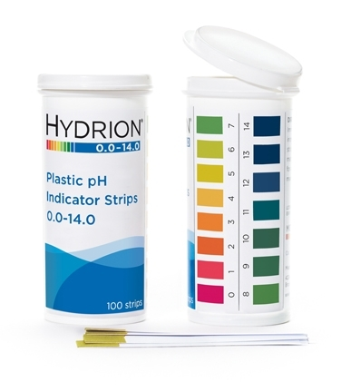 223-2011 Hydrion Spectral Plastic pH Strips
