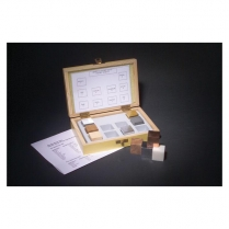 441-0201 Density Cube Set of 10 In Wooden Box