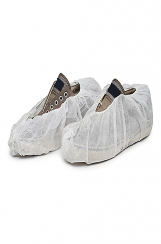 555-5570 Shoe Covers - White