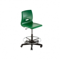 650-0210 Kudos Lab Stool 20-30 Inch Adjustable