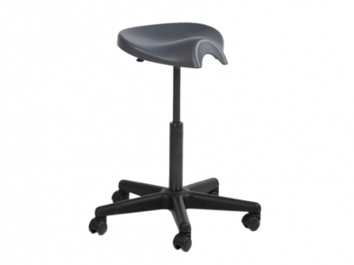 661-9260 Saddle Task Stool, 18 - 25 Inch Adjustable