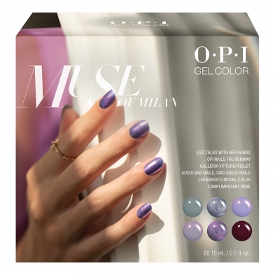 KITTING556 OPI Gelcolor Muse Of Milan 6Pcs Add-On Kit #2 GC296
