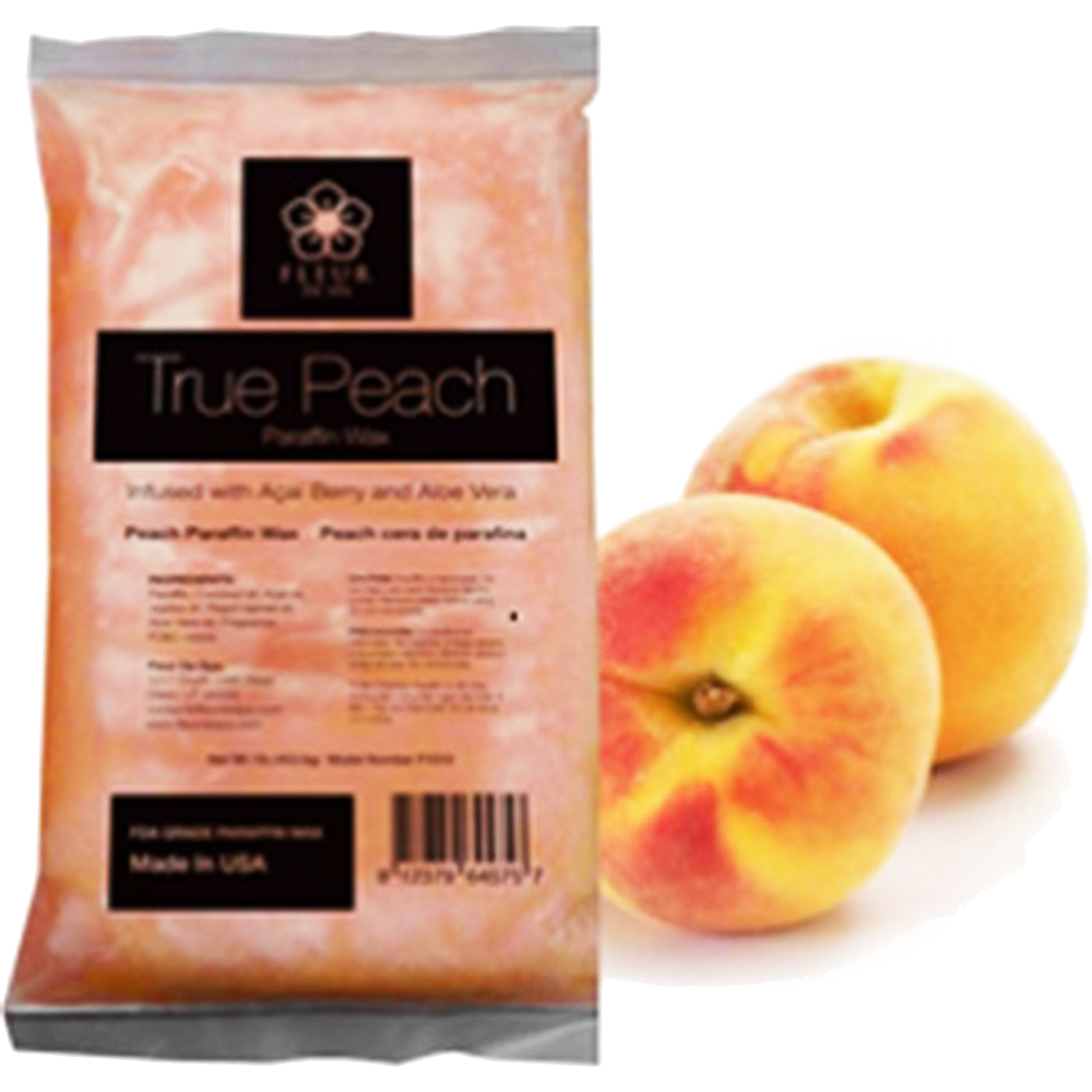Fleur Spa True Peach Paraffin Wax Wholesale Supply Canada