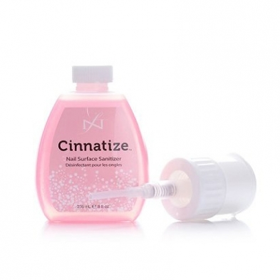 SD-SAC-N4075-008 Famous Names Cinnatize Nail Surface Sanitizer 8 oz. 4075