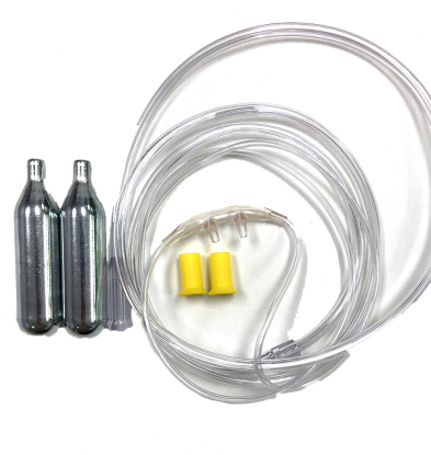 STM4603 Adult Nasal Cannula: 2 Cylinders (Disposable)
