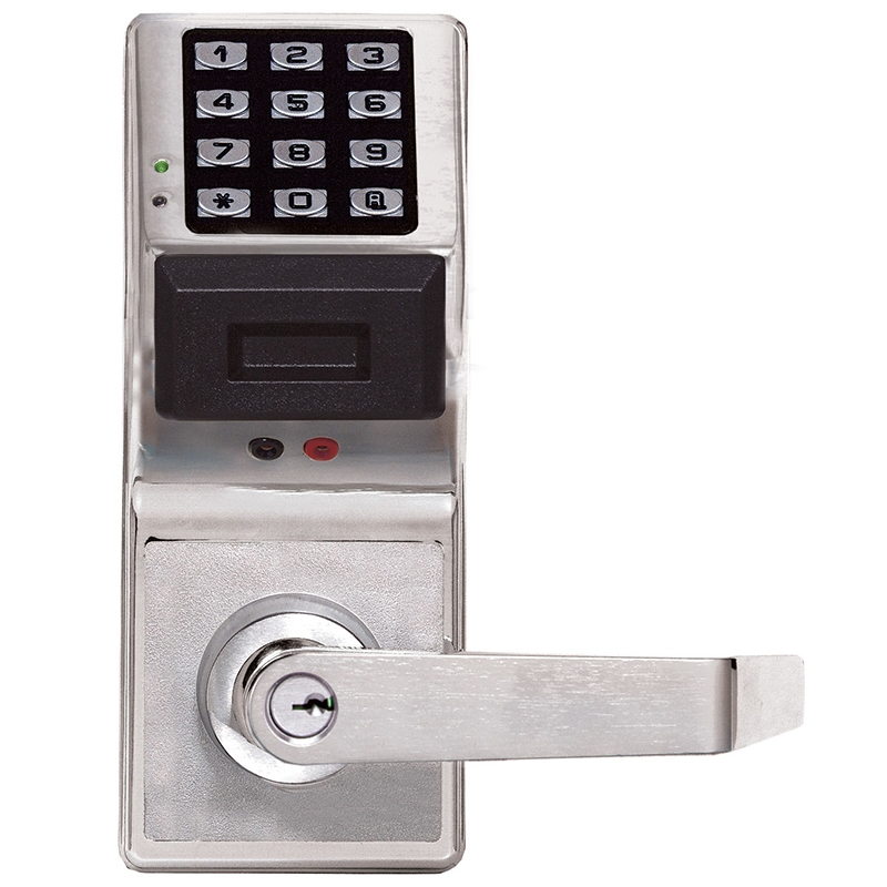 Alarm Lock PDL4100-26D PDL4100-US26D Pushbutton Cylindrical Door Lock |  Craftmaster Hardware