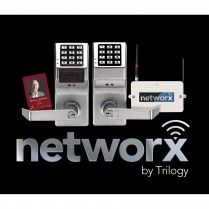Alarm Lock PDL6100 Trilogy Networx Cylindrical PIN/Prox Lock
