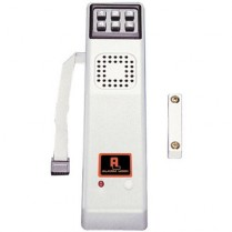 Alarm Lock Battery Operated Surface Digital, (MS)Silver