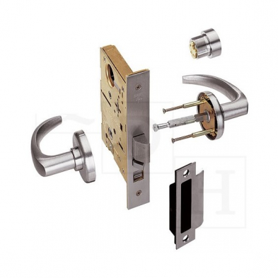 Best Lock 45H7AB16H613 Office, Mortise Lock less core