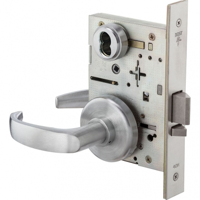 Best Lock 45H7D14H626 Storeroom, Mortise Lock less core