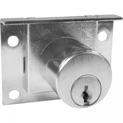National Pin Tumbler Half Mortise Desk Lock