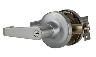 Falcon T511PD-D-626 Entry/Office Lock, Dane Lever