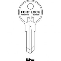 FO/K00V Fort Lock K00V Key Blank