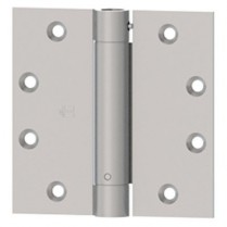 "Hager 1250 Single Acting Spring, Square Corner 4.5""x4.5"" Hinge"