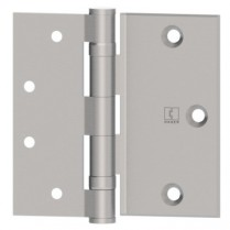 "Hager BB1173 5 Knuckle Half Surface Standard Weight 4.5""x4.5"" Hinge"