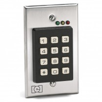 I.E.I. Indoor Keypad, Stainless Face, Flush Mount