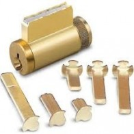 Kaba ILCO 1599 Series Universal Key-in-Knob/Deadbolt Combination Cylinders