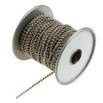 LL/31700 Lucky Line Beaded Chain (100' Spool)