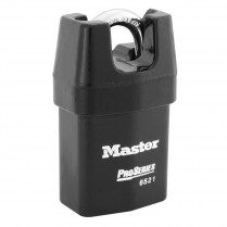 Master Lock 6520 Pro-Series Wide Shrouded Rekeyable Interchangeable Core Padlock