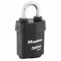 Master Lock 6620 Pro-Series Wide Weather Tough Rekeyable Key-in-Knob Padlock