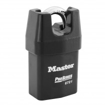 Master Lock 6720 Pro-Series Wide Shrouded Rekeyable Key-in-Knob Padlock