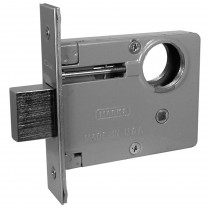 "MK/2-3 Marks USA Mortise Deadlock Lock Body Only 2-1/2"" Backset"