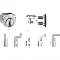 CompX National C8730 Multi-Cam Mail Box Lock