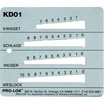 Pro-Lok Key Decoders - Variant Product